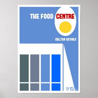 Impresión del poster del centro de la comida de Mi