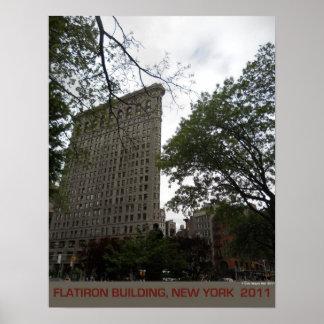 Impresión del poster del edificio de Flatiron