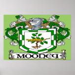 Impresión del poster del escudo de armas de Mooney