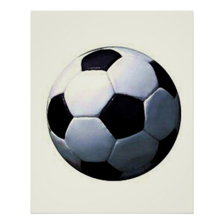 Impresión del poster del fútbol - posters del fútb