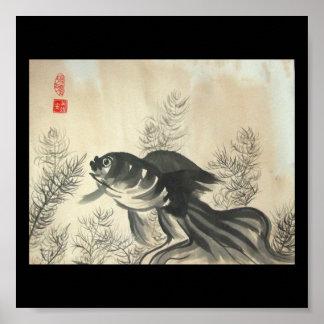 Impresión del poster del Goldfish