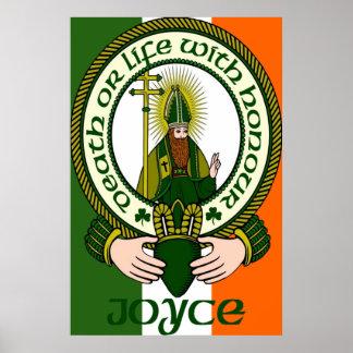 Impresión del poster del lema del clan de Joyce