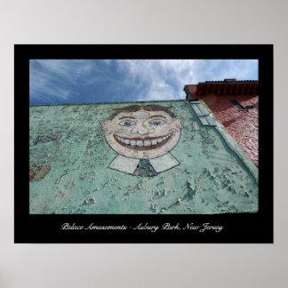 Impresión del poster del parque de Asbury - divers