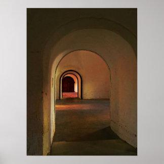 Impresión del poster del pasillo de Cristobal