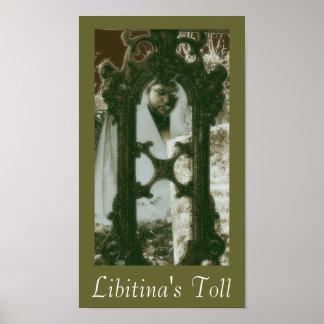 Impresión del poster del peaje de Libitina