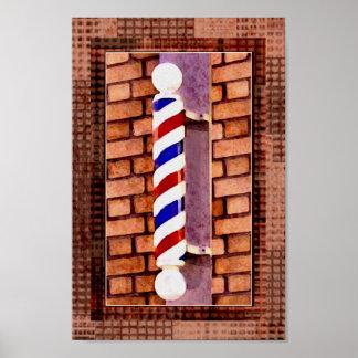 Impresión del poster del peluquero/del estilista d
