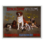 Impresión del poster del perro:  Club 1890 de la p