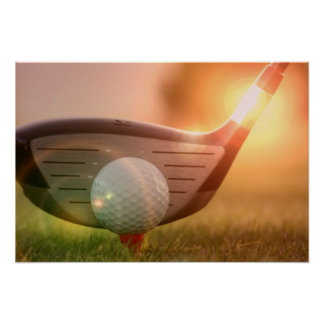 Impresión del poster del Putter del golf