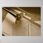 Impresión del poster del Trombone