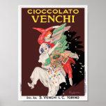 Impresión del poster del vintage: Cioccolato - cho