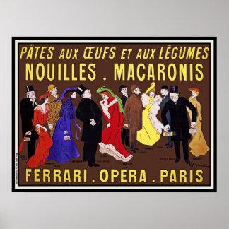 Impresión del poster del vintage: Leonetto Cappiel