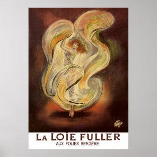 Impresión del poster: La Loie de Folies Bergere má