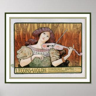 Impresión del poster: Lecciones de violín de Paul  Póster