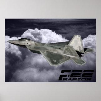 Impresión del RAPAZ F-22 Póster