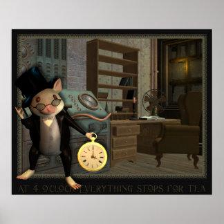 Impresión del ratón del Victorian