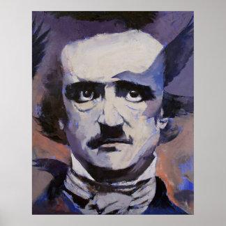 Impresión del retrato de Edgar Allan Poe Impresiones