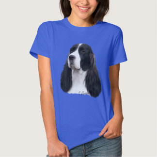 Impresión del retrato del perro del perro de aguas playera