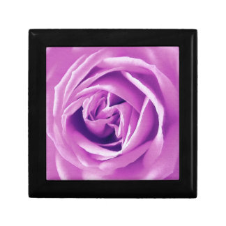 Impresión del rosa de la lavanda caja de regalo