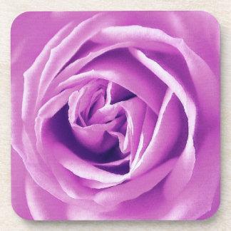 Impresión del rosa de la lavanda posavaso