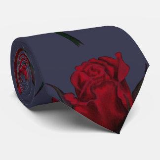 Impresión del rosa rojo corbatas personalizadas