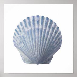 Impresión del Seashell Posters