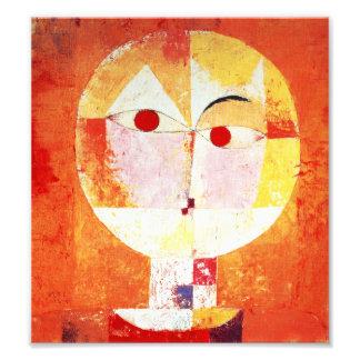 Impresión del Senecio de Paul Klee Fotografías