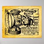 Impresión del siglo XX de la linterna de la Poster