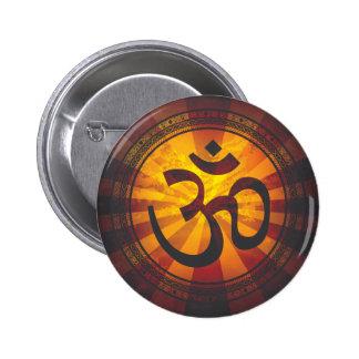 Impresión del símbolo de OM del vintage Pin