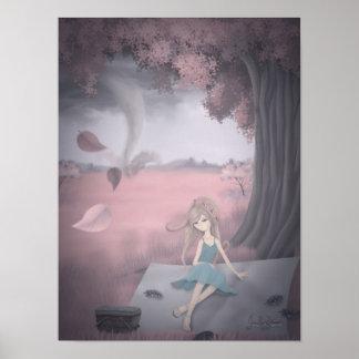 Impresión del sueño 1 del tornado póster