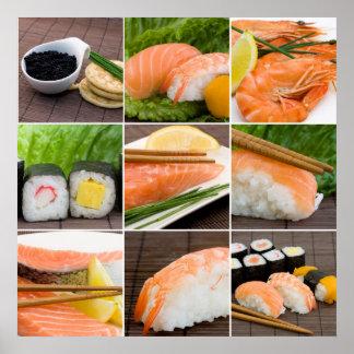 Impresión del sushi