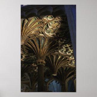 Impresión del techo de la abadía de Tewkesbury Impresiones