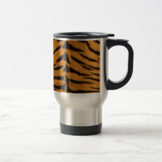 Impresión del tigre, animal salvaje natural taza de viaje
