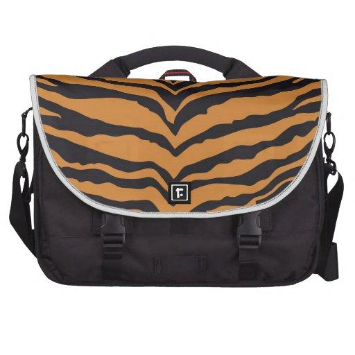 Impresión del tigre bolsas para portatil