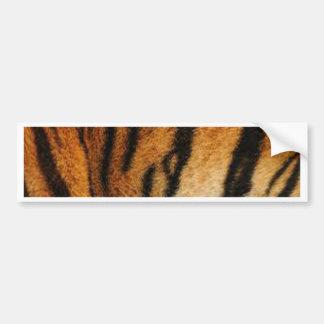 Impresión del tigre etiqueta de parachoque