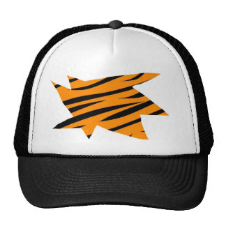 Impresión del tigre gorra