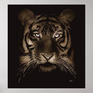 Impresión del tigre impresiones