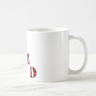 Impresión del tigre salvaje taza de café