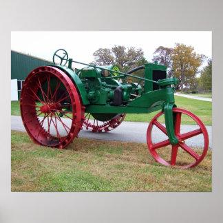 Impresión del tractor de Allis-Chalmers 10 Posters