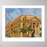Impresión del tribunal del Palm Beach Impresiones
