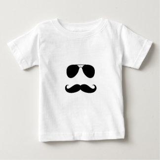Impresión divertida del individuo del bigote playeras