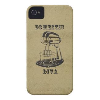 Impresión divertida kitschy del vintage retro Case-Mate iPhone 4 carcasa