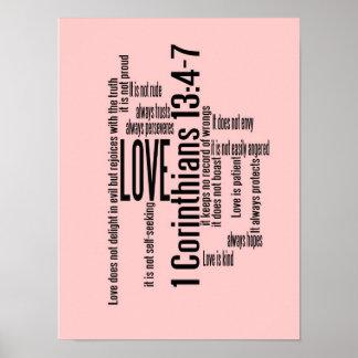Impresión - el amor es despegue en tiempo mínimo p póster