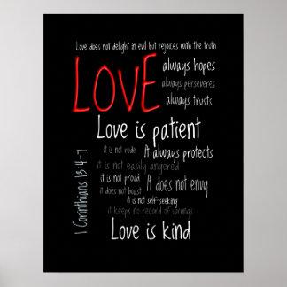 Impresión - el amor es la mezcla paciente 2 poster