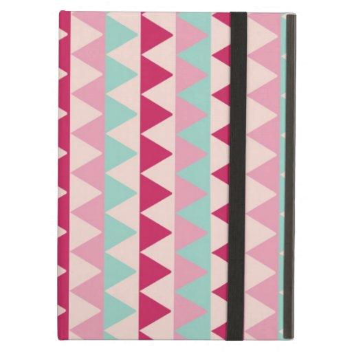 Impresión elegante de las rayas geométricas tribal