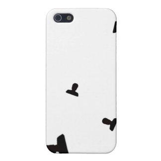 Impresión enojada creciente del icono iPhone 5 carcasas