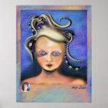 Impresión entendida mal de la medusa por Anjo Lafi Impresiones