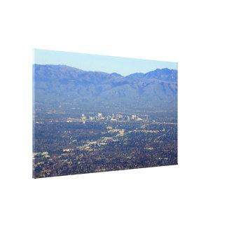 Impresión envuelta California de la lona de San Jo