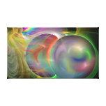 Impresión envuelta de la lona de las burbujas de j lona estirada galerías