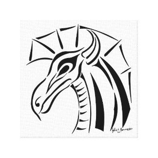 Impresión envuelta dragón con cresta de la lona impresion en lona