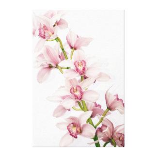 Impresión envuelta flor rosada de la lona de la or impresion de lienzo